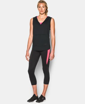 New Arrival  Women's UA Cotton Modal Sleeveless Hoodie   $33.99