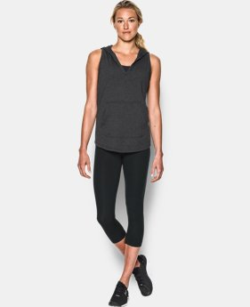Women's UA Cotton Modal Sleeveless Hoodie  1 Color $29.99
