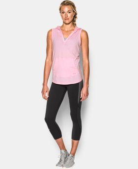 Women's UA Cotton Modal Sleeveless Hoodie  1 Color $20.24 to $25.49