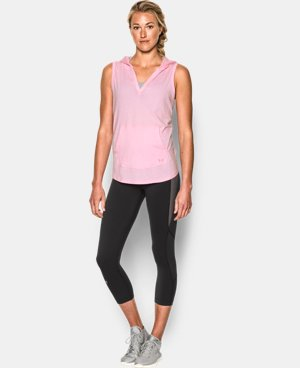 Women's UA Cotton Modal Sleeveless Hoodie  1 Color $22.49