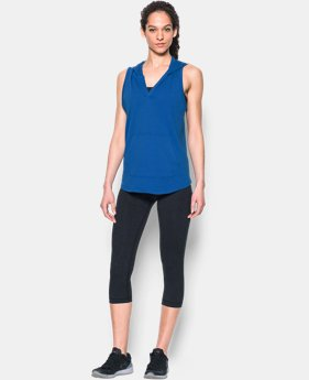 Women's UA Cotton Modal Sleeveless Hoodie  3 Colors $33.99