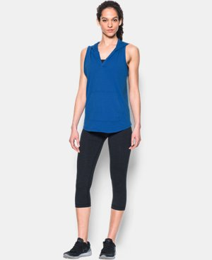Women's UA Cotton Modal Sleeveless Hoodie  2 Colors $25.49