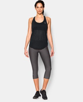 Women's UA Tech™ Slub Flowy Tank  1 Color $24.99 to $32.99