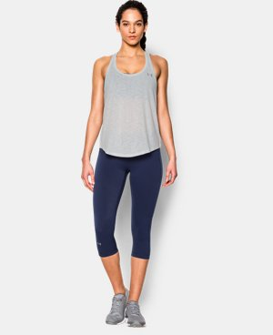 Women's UA Tech™ Slub Flowy Tank LIMITED TIME OFFER + FREE U.S. SHIPPING 1 Color $20.99