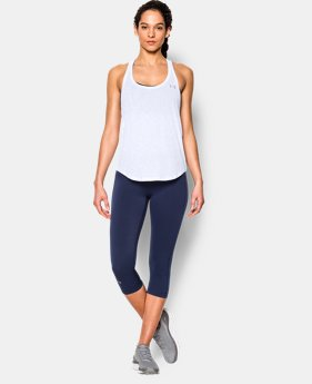 New Arrival  Women's UA Tech™ Slub Flowy Tank LIMITED TIME: FREE SHIPPING 1 Color $32.99
