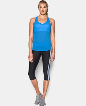 Women's UA Tech™ Slub Flowy Tank  1 Color $15.74 to $20.99
