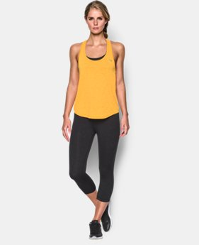 Women's UA Tech™ Slub Flowy Tank  1 Color $20.99