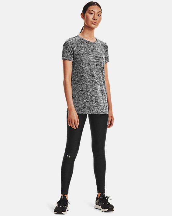 T-shirt UA Tech™ Twist pour femme, Black, pdpMainDesktop image number 3