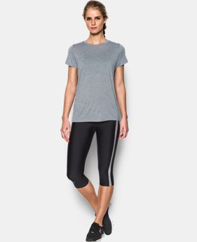 Women's UA Tech™ Twist T-Shirt LIMITED TIME: FREE SHIPPING 2 Colors $24.99