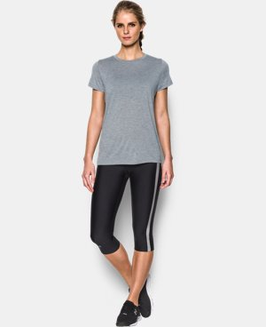 New Arrival  Women's UA Tech™ Twist T-Shirt LIMITED TIME: FREE SHIPPING 1 Color $29.99