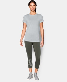 Women's UA Tech™ Twist T-Shirt  1 Color $18.99