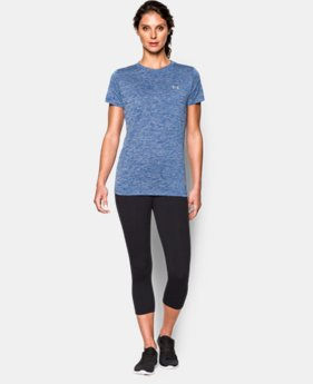 New Arrival  Women's UA Tech™ Twist T-Shirt LIMITED TIME: FREE SHIPPING 1 Color $22.99 to $29.99