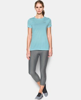 Women's UA Tech™ Twist T-Shirt LIMITED TIME: FREE SHIPPING 1 Color $24.99