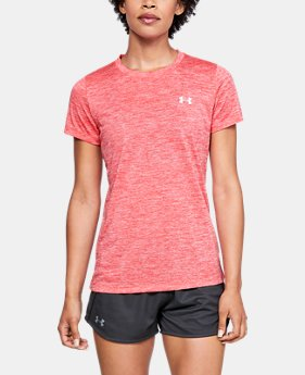 512325a689 Women's Pink Short Sleeve Shirts | Under Armour US