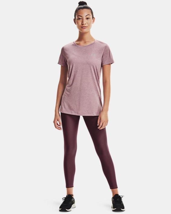 Women's UA Tech™ Twist T-Shirt, Pink, pdpMainDesktop image number 0