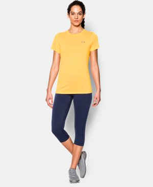 Women's UA Tech™ Twist T-Shirt LIMITED TIME: FREE U.S. SHIPPING 1 Color $14.24