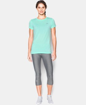 Women's UA Tech™ Twist T-Shirt  1 Color $14.99 to $24.99