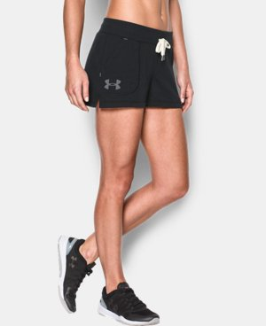 Women's UA Favorite French Terry Shorty LIMITED TIME: FREE SHIPPING 2 Colors $26.99