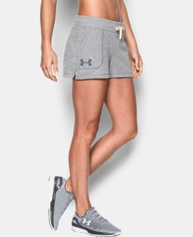 Women's UA Favorite French Terry Shorty  1 Color $29.99