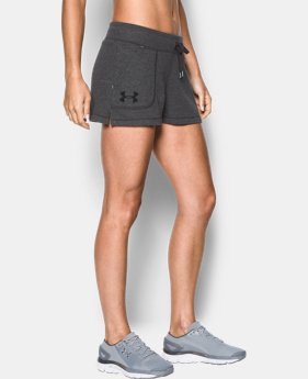 Women's UA Favorite French Terry Shorty LIMITED TIME: FREE SHIPPING 1 Color $34.99