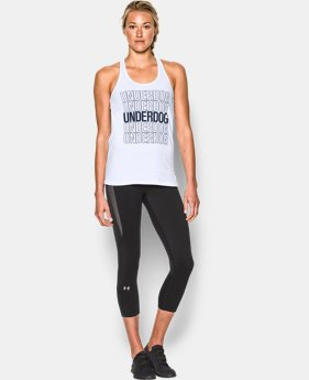 Women's UA Underdog Tank LIMITED TIME: FREE SHIPPING 1 Color $24.99