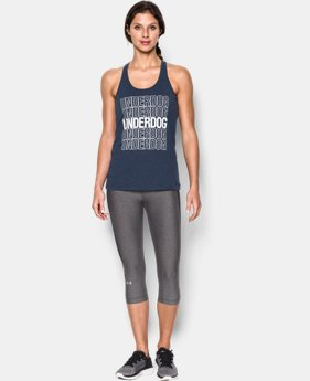 Women's UA Underdog Tank  1 Color $24.99