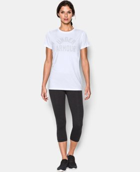 Women's UA Tech™ Word Mark T-Shirt  1 Color $19.99