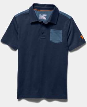 Boys' UA Soft-Pitch Polo