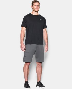 Men's UA Spacer Fleece Shorts  1 Color $42.74