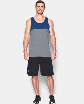 Men's UA Tri-Blend Tank  1 Color $18.99