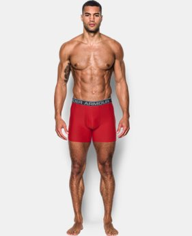 "3 FOR $60 Men's UA Original Series 6"" Boxerjock® LIMITED TIME OFFER 11 Colors $24.99"