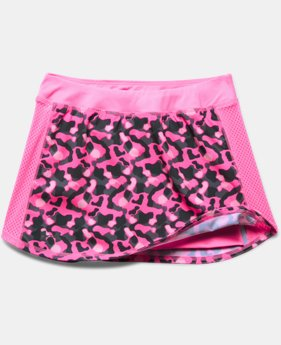 Girls' UA Printed Play Up Skort