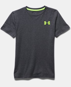 Boys' UA Charged Cotton® T400 T-Shirt
