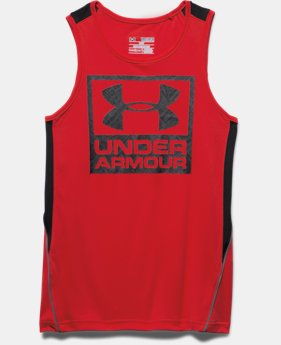 Boys' UA Show Me Sweat Tank
