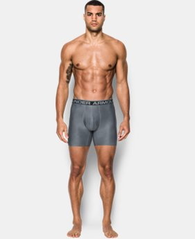 "New Arrival  Men's UA Original Series Printed 6"" Boxerjock®  2 Colors $22.99 to $29.99"
