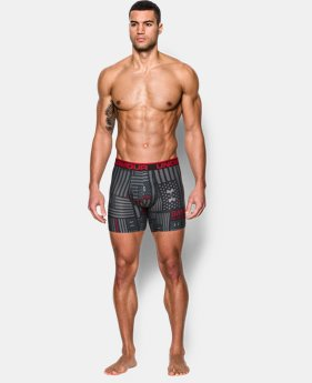 "New Arrival Men's UA Original Series Printed 6"" Boxerjock®  7 Colors $25"