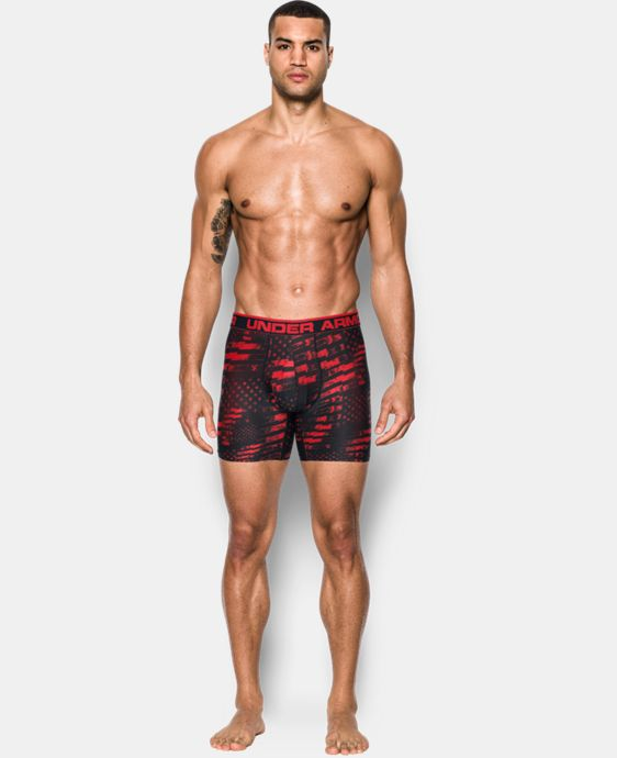 "Men's UA Original Series Printed 6"" Boxerjock®  1 Color $22.99 to $29.99"