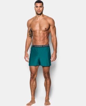 3 FOR $60 Men's UA Original Series Boxer Shorts  8 Colors $24.99