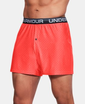 Men's UA Original Series Boxer Shorts 3 FOR $60 1  Color Available $24.99