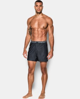 Men's UA Original Series Printed Boxer Shorts  1 Color $25