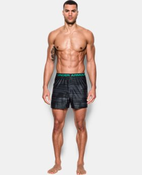 "Men's UA Original Series Printed 6"" Boxer Shorts  1 Color $18.99"