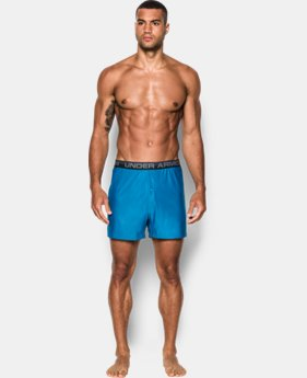 "Men's UA Original Series Printed 6"" Boxer Shorts  2 Colors $25"