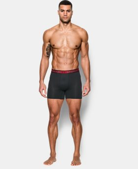 "Men's UA Iso-Chill Mesh 6"" Boxerjock® LIMITED TIME: FREE SHIPPING 1 Color $29.99"