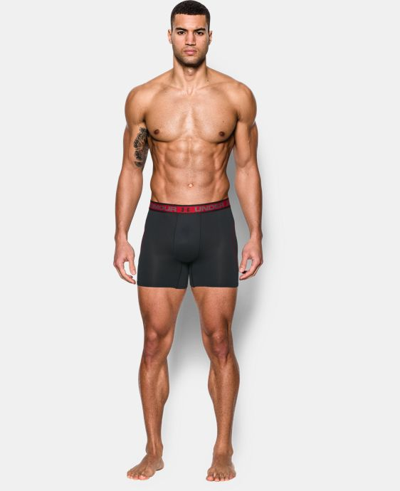 "Men's UA Iso-Chill Mesh 6"" Boxerjock®  3 Colors $29.99"