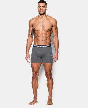 "Best Seller Men's UA Iso-Chill Mesh 6"" Boxerjock®  3 Colors $14.99"