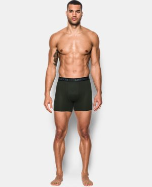 "New Arrival  Men's UA Iso-Chill Mesh 6"" Boxerjock®  2 Colors $29.99"