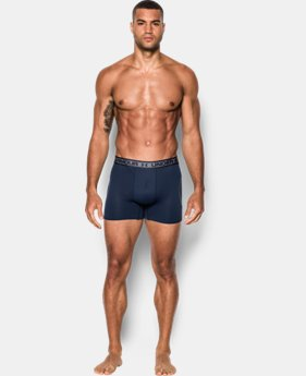 "Men's UA Iso-Chill Mesh 6"" Boxerjock® LIMITED TIME: FREE SHIPPING 1 Color $22.99 to $29.99"