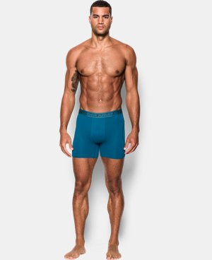 "Men's UA Iso-Chill Mesh 6"" Boxerjock® LIMITED TIME: FREE SHIPPING 1 Color $18.99 to $22.99"