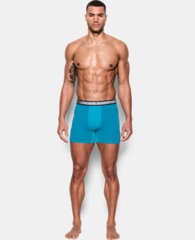 "Men's UA Iso-Chill Mesh 6"" Boxerjock®  1 Color $18.99"