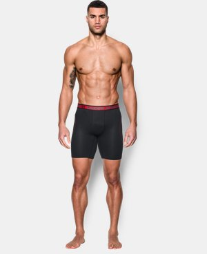 "Men's UA Iso-Chill Mesh 9"" Boxerjock® LIMITED TIME: FREE SHIPPING 2 Colors $29.99"